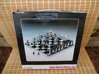 Shot glass chess set