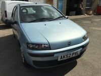 Cheap car of the day, 2002 Fiat Punto, starts and drives, MOT until 22nd September, car located in G