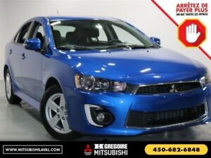 2017 Mitsubishi LANCER SPORTBACK SE LTD Sunroof Banc-Chauf Bluet