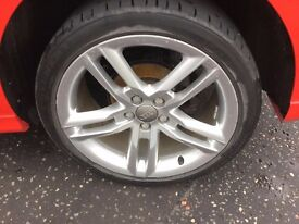 Audi S line alloy wheel (Tyre also available)