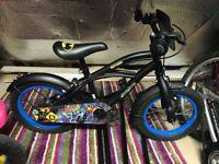 "14"" Batman Bicycle (Great first bike)"