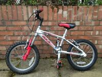 "Raleigh 16"" wheel child's bike for sale"