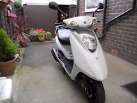 YAMAHA XC 125 E VITY BANK HOLIDAY BARGAIN IDEAL LEARNER OR FOR MOTOR HOME