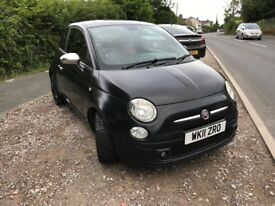 Black Jack Twin air Fiat 500, 0.9 Zero Road Tax, start/stop