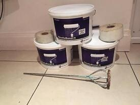 mix building materials for sale,thistle bond it 10litr,fireproof silicone 30 tubes,rols of polly
