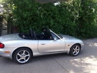Mx 5 soft top silver