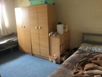 2 people in a big double room per person £325 per month bills included