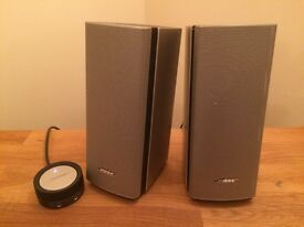 Bose Companion 20 Speakers - Pair - Silver