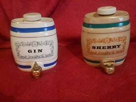 Vintage Royal Victoria sherry and gin casks