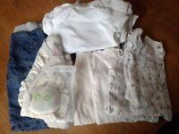 Baby clothes bundle (some organic cotton)