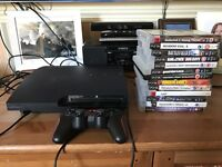 Sony PS3 PlayStation 3 console and games