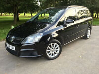 2006*VAUXHALL ZAFIRA 1.6 PETROL*1 OWNER*FULL SERVICE*CAMBELT CHANGED*7 SEATER*8 MONTHS MOT