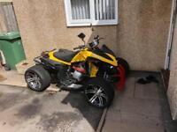 2012 road legal quad