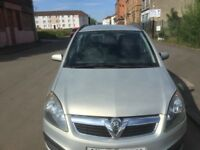 SEVEN SEATER VAUXHALL ZAFIRA 2007 5DR PETROL FULL YEAR MOT EXCELLENT CONDITION