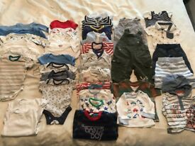 Used baby clothes aged 0-3 months old