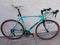 Bianchi via Nirone road bike 55cm