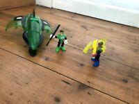 Imaginext Green Lantern - Sinestro
