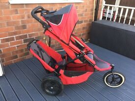 Phil & Teds Sport Double/single Pushchair