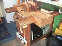 Bookbinder cutting press.