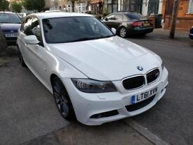 BMW 3 Series, Alpine White, 61 Plate