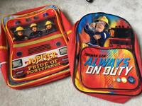 Fireman Sam backpacks