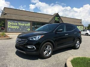 2017 Hyundai Santa Fe Sport SE / LEATHER / SUNROOF / AWD