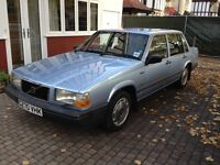 Classic, lovingly restored Volvo 740GLE automatic saloon. Old but in outstanding condition.