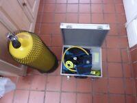 Apex TX 40 Regulator Apex double gauge Apex 0098 EN emergency Octopus