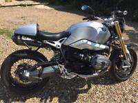 BMW R Nine T Sport with full BMW service history and one owner from new