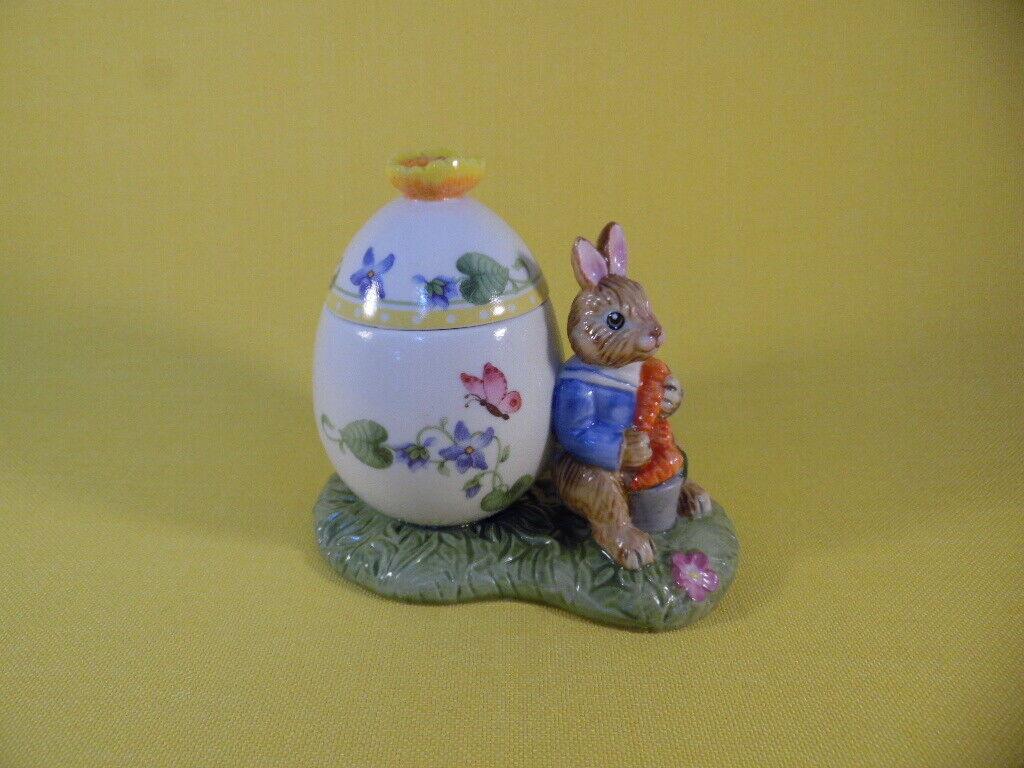 Villeroy & Boch Bunny Tales Osterei - Dose Max Hase Osterhase Blumen Ostern Deko