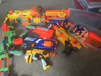 Nerf guns and accessories. Excellent condition.