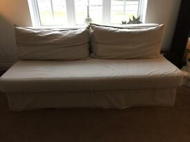 Himmene Ikea double sofa bed
