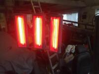 Trisk infra red heat lamp