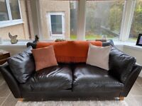 Free Leather Sofa and Chair