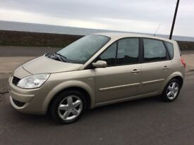 07 renault scenic extreme-1461 cc.diesel.5 door mpv.12months mot/warranty/cheap to run