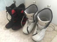 Snowboard boots 10.5us 43.5eu