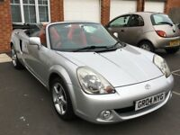 2004 Toyota MR2 1.8 VVT-i Roadster 2dr Convertible