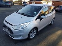 2015 Ford B-MAX Manual - Free Road Tax - Recent MOT