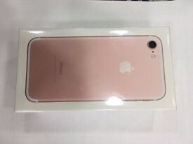 iPhone 7 Rose Gold 128GB Brand New Sealed