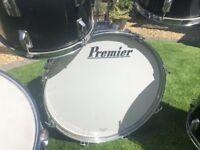 pearl 22inch bass drum jet black