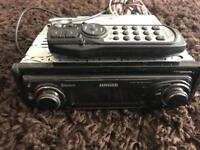 Kenwood Bluetooth stereo with remote