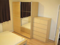 Renewed Double Bedroom to rent close to Airport and City Center in Highridge All Bills Included