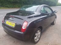 2007 NISSAN MICRA CONVERTIBLE 1.4 MOT UNTIL AUGUST 2018