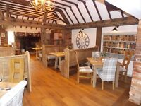 Professional Kitchen Porter required for an exciting and multi award winning country pub.