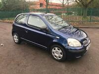 2003 Toyota Yaris 1.0 only 2 owners ideal first car or cheap run about 85000 miles