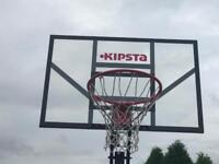 Portable Basketball Net and Backboard
