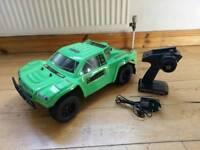 Rc brushless radio control car