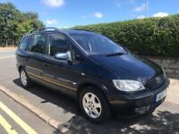 VAUXHALL ZAFIRA 1.8 DRIVES GREAT 7 SEATER FIRST TO SEE WILL BUY BARGAIN