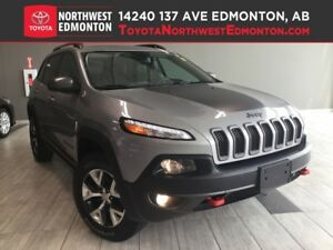 2016 Jeep Cherokee Trailhawk | Nav | Pano | Rmt Start | Heat Ste