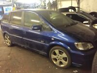 Vauxhall zafira Sri 2005 2L dti diesel manual 7 seater
